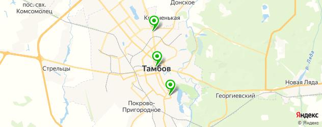 кадровые агентства на карте Тамбова