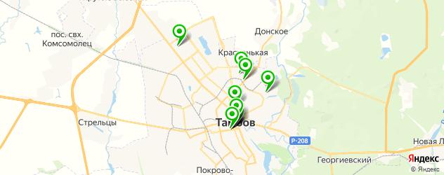 свадебные агентства на карте Тамбова