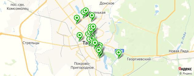 свадьба на карте Тамбова