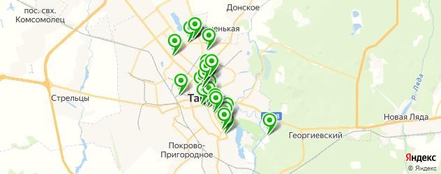 банкетные залы для свадьбы на карте Тамбова