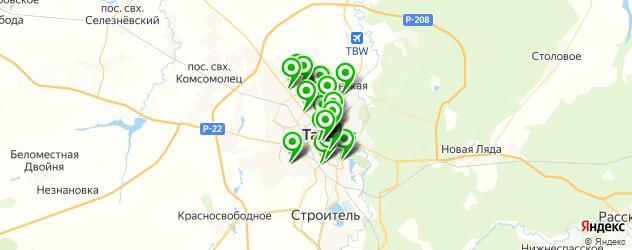терминалы оплаты на карте Тамбова