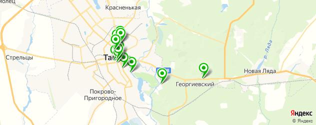 рестораны с живой музыкой на карте Тамбова