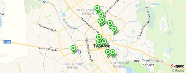 лаборатории анализов на карте Тамбова
