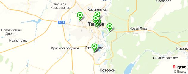 вегетарианские кафе на карте Тамбова
