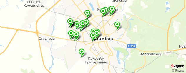 автосалоны на карте Тамбова