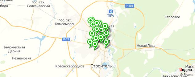 банкоматы с функцией приема наличных на карте Тамбова