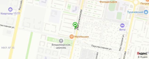 лазерная эпиляция на карте Ставрополя