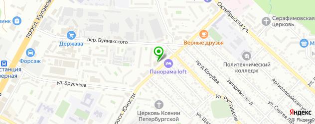 парковки на карте Ставрополя