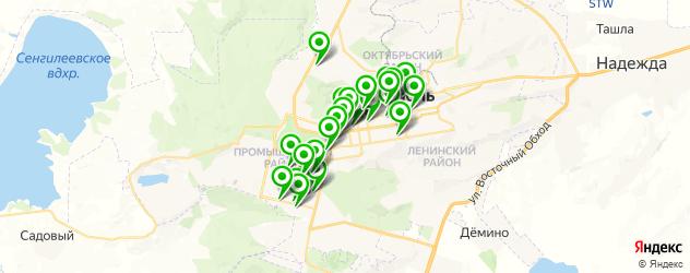 студии маникюра на карте Ставрополя