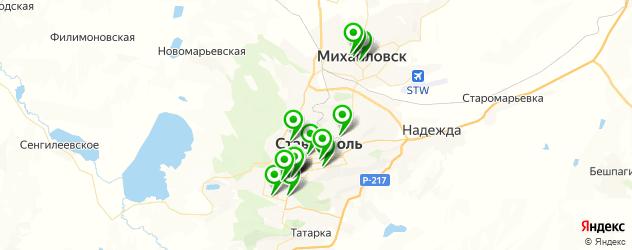 детский день рождения на карте Ставрополя