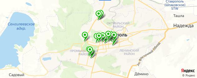 ортопедические магазины на карте Ставрополя