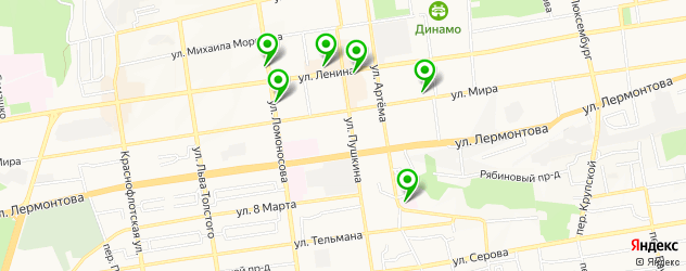 ортопедические магазины на карте Ленинского района