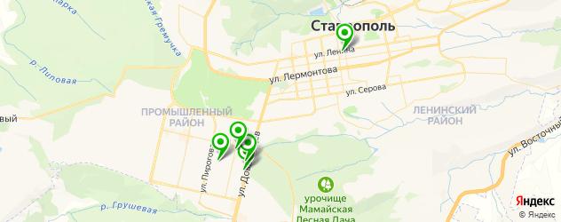 клиники пластической хирургии на карте Ставрополя