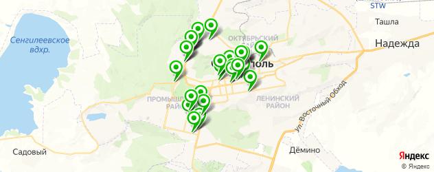 ужин на карте Ставрополя