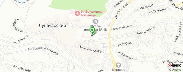 женские консультации на карте Кисловодска
