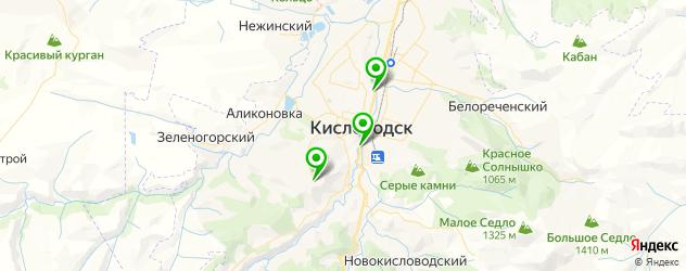лаборатории анализов на карте Кисловодска