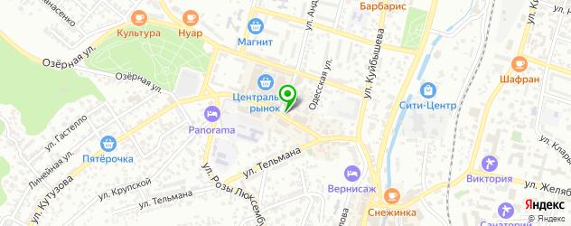 женские фитнес-клубы на карте Кисловодска
