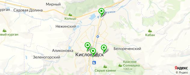 агентства праздников на карте Кисловодска