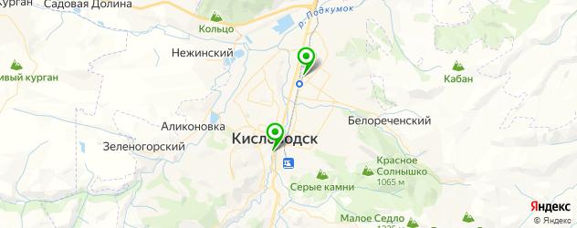 фотостудии на карте Кисловодска