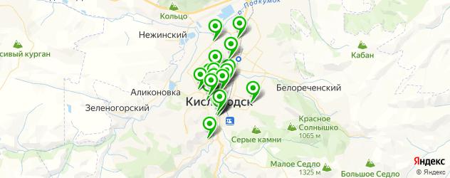 сервисные центры на карте Кисловодска