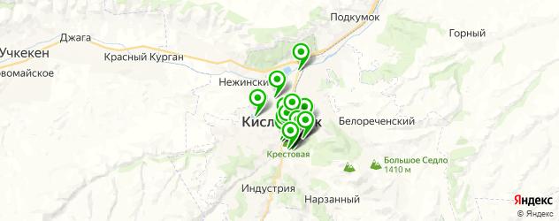 живая музыка на карте Кисловодска