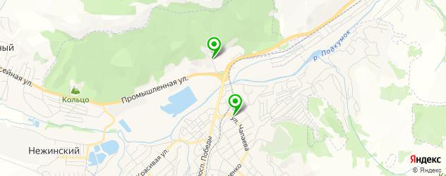 мотосалоны на карте Кисловодска