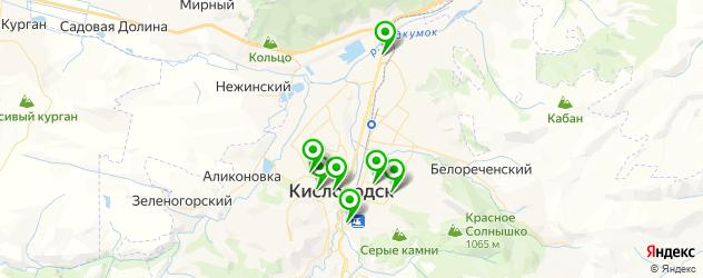 швейные мастерские на карте Кисловодска