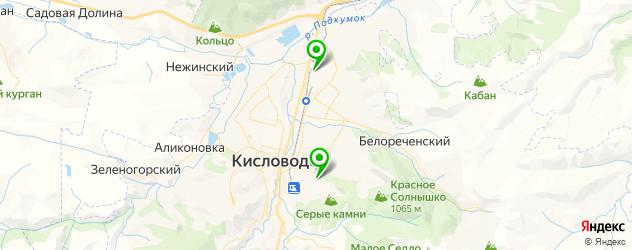 центры эстетической медицины на карте Кисловодска