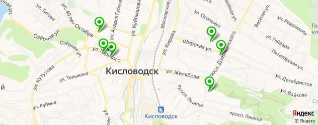 пирсинги салон на карте Кисловодска