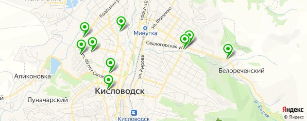 ламинирование документов на карте Кисловодска