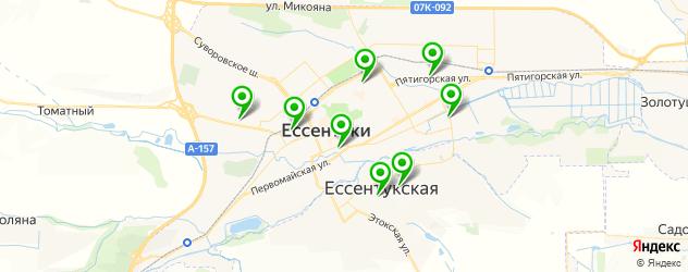 автошколы на карте Ессентуков