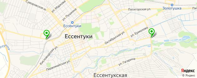 тюнинги ателье на карте Ессентуков