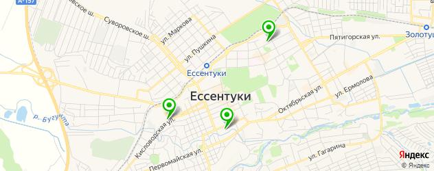 экскурсии на карте Ессентуков
