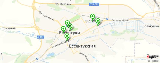 печать на ткани на карте Ессентуков