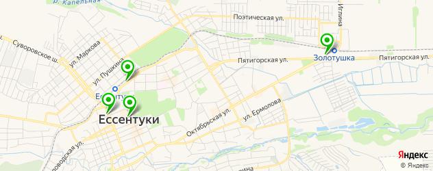 художественные мастерские на карте Ессентуков