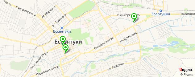 кадровые агентства на карте Ессентуков