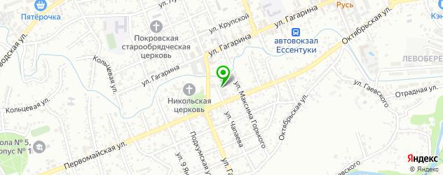 авторазборки Митсубиси на карте Ессентуков
