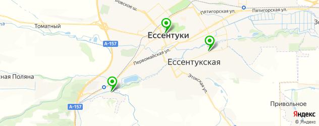 художественные школы на карте Ессентуков