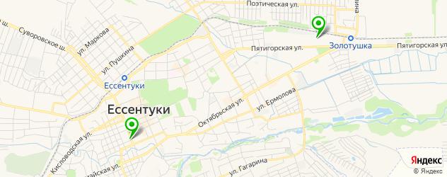 мотосалоны на карте Ессентуков