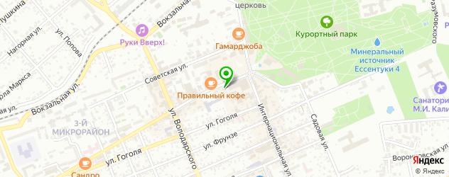 музеи на карте Ессентуков