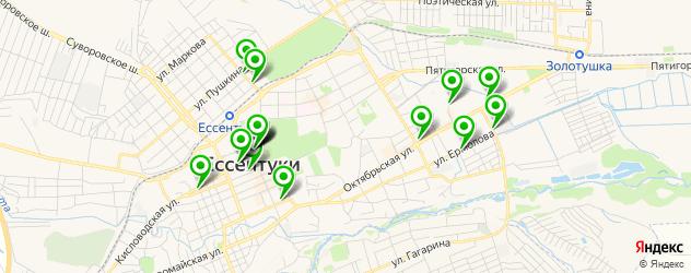 Доставка пиццы на карте Ессентуков