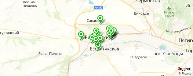 фасты фуд на карте Ессентуков