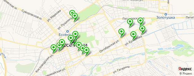 пиццерии на карте Ессентуков
