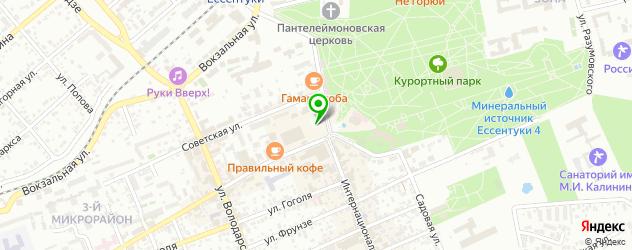 детские поликлиники на карте Ессентуков