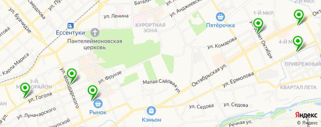 компьютерные клубы на карте Ессентуков