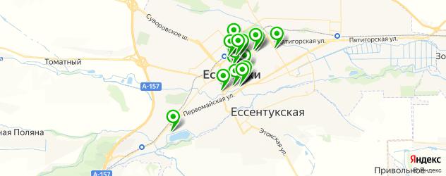 рестораны для дня рождения на карте Ессентуков