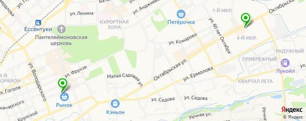 изготовления ключей на карте Ессентуков
