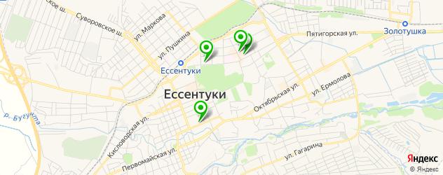 вегетарианские рестораны на карте Ессентуков