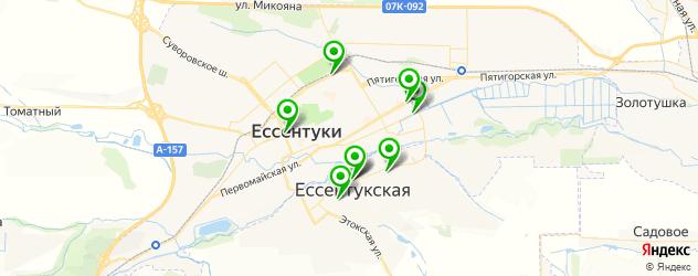 детские клубы на карте Ессентуков