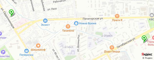 женские консультации на карте Ессентуков